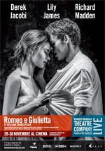 Locandina Kenneth Branagh Theatre Company - Romeo e Giulietta
