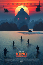Poster Kong: Skull Island  n. 3