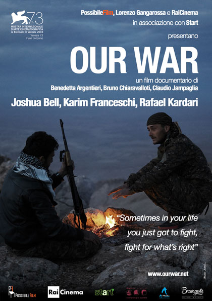 Locandina Our War