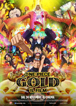 Locandina One Piece Gold - Il film