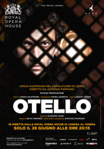 Locandina Royal Opera House: Otello
