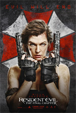 Poster Resident Evil: The Final Chapter  n. 1