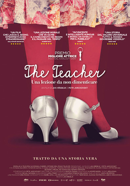 Locandina italiana The Teacher