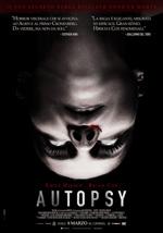 Locandina italiana Autopsy