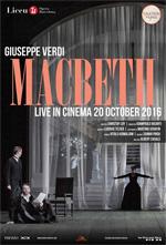 Locandina Teatro Gran Liceu di Barcellona: Macbeth