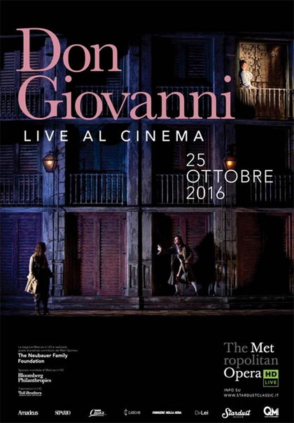 The Metropolitan Opera di New York: Don Giovanni