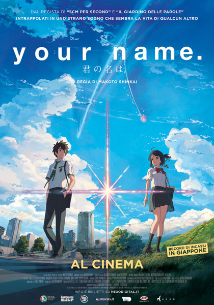 Locandina italiana Your Name.