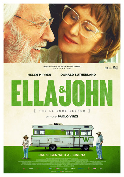 Locandina italiana Ella & John - The Leisure Seeker