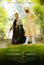 Locandina italiana Vittoria e Abdul