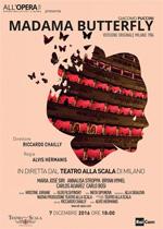 Locandina Teatro alla Scala di Milano: Madama Butterfly