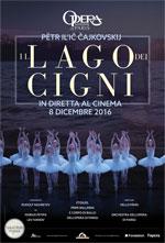 Locandina Opéra di Parigi: Il lago dei cigni