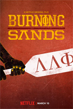 Locandina Burning Sands