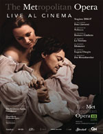 Locandina The Metropolitan Opera di New York: Romeo e Giulietta