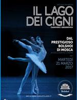 Locandina Il Balletto del Bolshoi: Il Lago dei Cigni