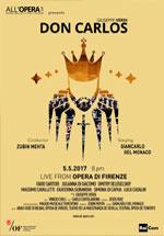 Locandina Teatro dell'Opera di Firenze: Don Carlos