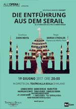 Locandina Teatro alla Scala di Milano: Il ratto del serraglio