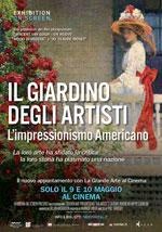 Locandina Il giardino degli artisti - L'impressionismo americano