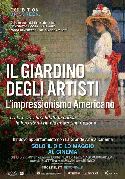 Il giardino degli artisti - L'impressionismo americano