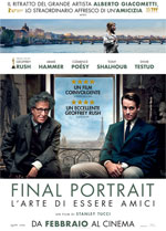 Poster Final Portrait - L'Arte di essere Amici  n. 0
