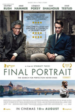 Poster Final Portrait - L'Arte di essere Amici  n. 1