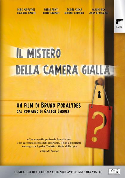 Poster il mistero della camera gialla for Il film della cabina 2017