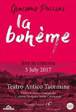 Locandina Teatro Antico di Taormina: La Bohème