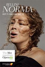 Locandina The Metropolitan Opera di New York: Norma