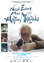 Poster Never Ending Man - Hayao Miyazaki  n. 0