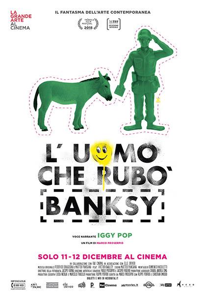 Trailer L'uomo che rubò Banksy
