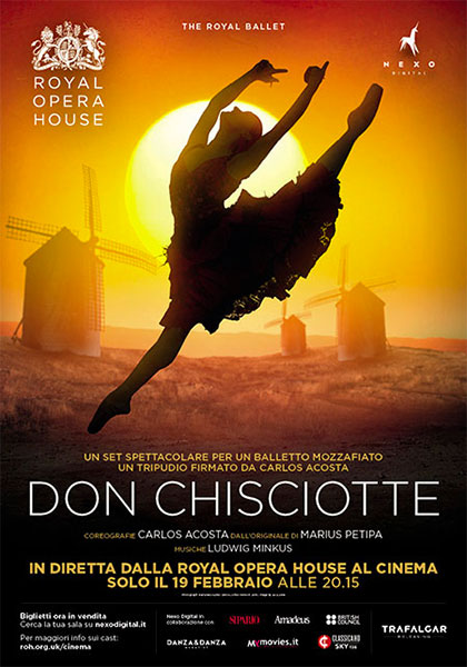 Trailer Royal Opera House: Don Chisciotte