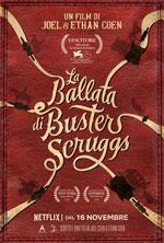 Poster La ballata di Buster Scruggs  n. 0