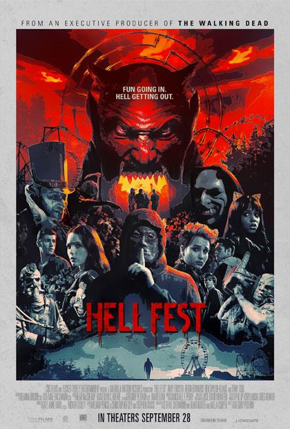 Poster Hell Fest