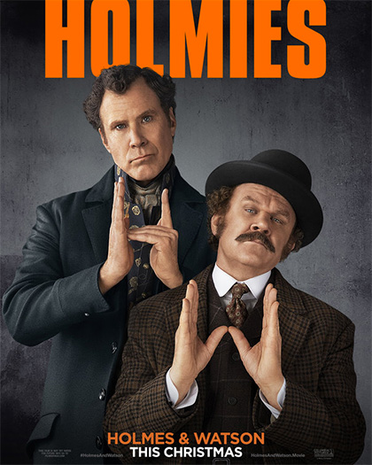 Trailer Holmes and Watson