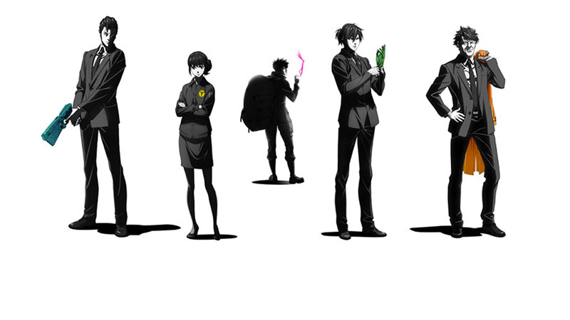Psycho-pass Sinners of the System Case.1 & Case.2