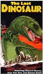 locandina The Last Dinosaur