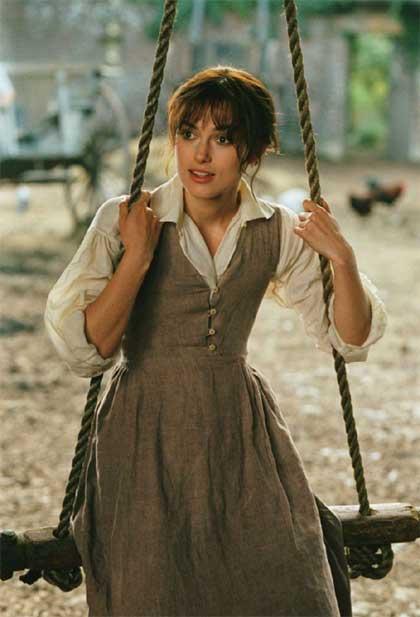 Orgoglio e pregiudizio -  Dall'articolo: 5x1: Keira Knightley, dal pallone ai corsetti.