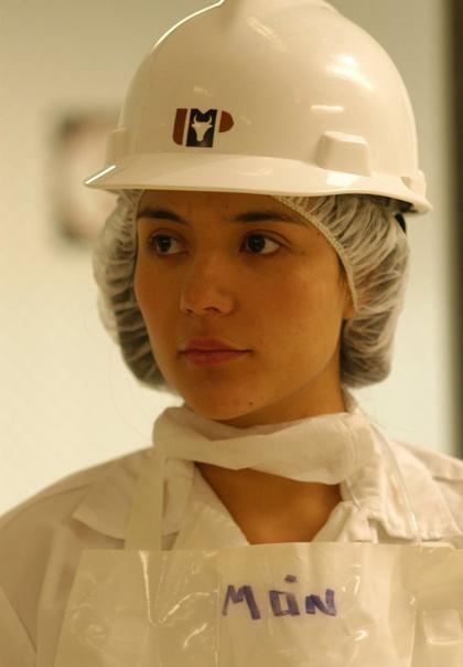 Catalina Sandino Moreno, la manovalanza -  Dall'articolo: Fast Food Nation: il lato oscuro dell'hamburger.