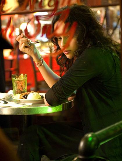 Notturna solitudine -  Dall'articolo: Un bacio romantico e dolce come una crostata di mirtilli.