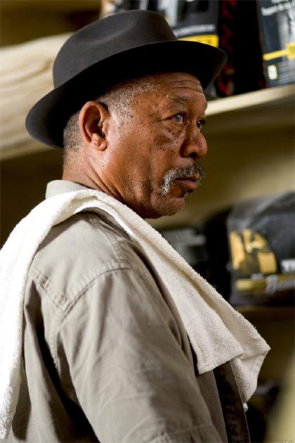 In foto Morgan Freeman (84 anni) Dall'articolo: 5x1: L'impresa da Dio di Morgan Freeman.