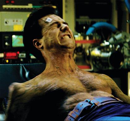 Per animare Hulk e Abominio un misto di motion capture e animazione al computer -  Dall'articolo: Tutta la distanza che c'è tra Hulk e L'incredibile Hulk.
