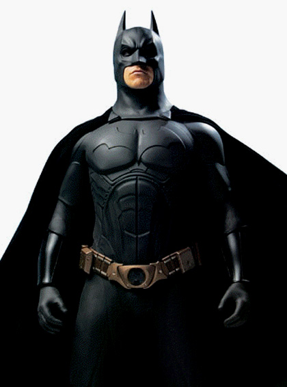 The Bat-man -  Dall'articolo: Batman Begins, Returns, Forever.