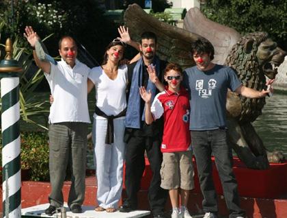 Il cast di Pa-ra-da a Venezia
