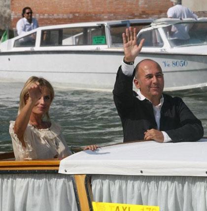 Isabella Ferrari e Ozpetek a Venezia