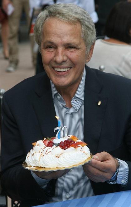 Giuliano Gemma festeggia 70 anni al Lido