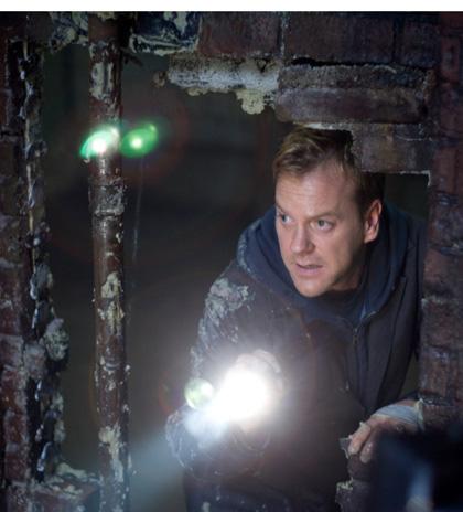 In foto Kiefer Sutherland (55 anni) Dall'articolo: Riflessi di paura, Il film.