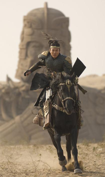In foto Jet Li (57 anni) Dall'articolo: La Mummia: dalla tomba con furore.