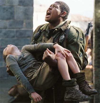 In foto Omar Benson Miller (43 anni) Dall'articolo: Miracolo a Sant'Anna: Inside war.