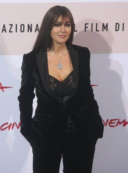 Monica Bellucci a Roma per L'uomo che ama