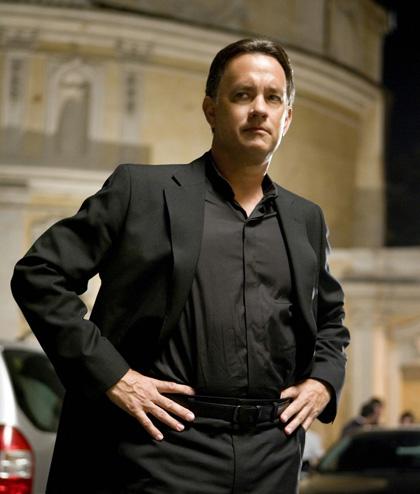 In foto Tom Hanks (63 anni) Dall'articolo: Le immagini del film Angeli e Demoni.
