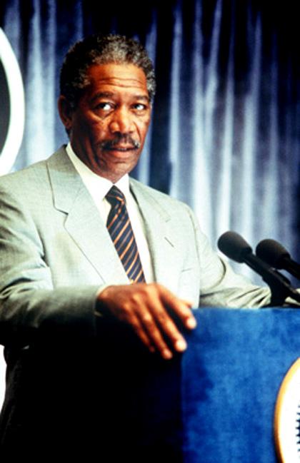 In foto Morgan Freeman (83 anni) Dall'articolo: Obama, l'attore.